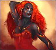 Рыжий ангел - дева Жаркая, Подступила...