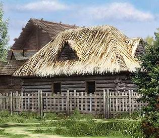 Заброшенный дом в Кингале